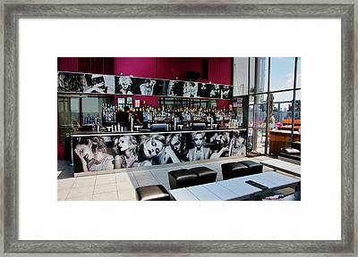 Bar View Framed Print
