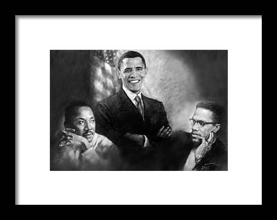 King Framed Prints
