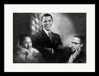 Malcolm Framed Prints