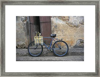 Baracoa Bicycle Framed Print