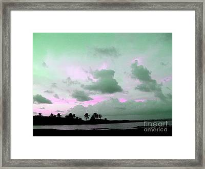 Barbados Eastcoast Framed Print by Barbara Marcus