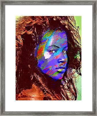 Barbados Woman Framed Print by Philip Gresham