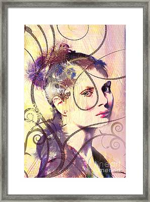 Barbara Blue Framed Print by Kim Prowse