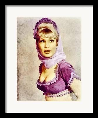 Barbara Eden Framed Prints