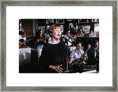 Barbara Lea, Jazz Vocalist Framed Print by The Harrington Collection