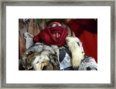 Barbarian Renaissance Festival 2 Framed Print by Bob Christopher
