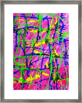 Barbed Framed Print by Lourdes  SIMON