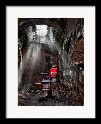 Danger Framed Prints
