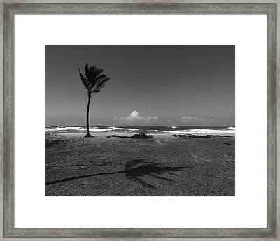 Framed Print featuring the photograph Barbers Pt., Oahu by Art Shimamura