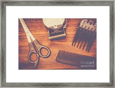 Barbershop Quartet Framed Print