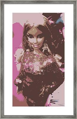 Barbie Sparkle Framed Print