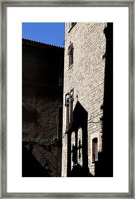 Framed Print featuring the photograph Barcelona 2 by Andrew Fare