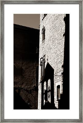 Framed Print featuring the photograph Barcelona 2b by Andrew Fare