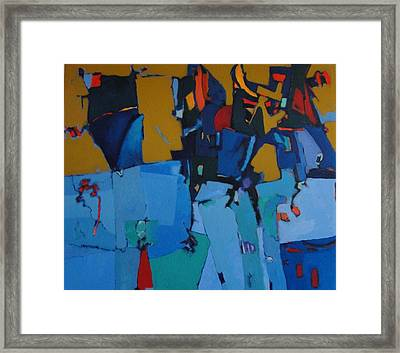 Barcelona Framed Print by Bernard Goodman