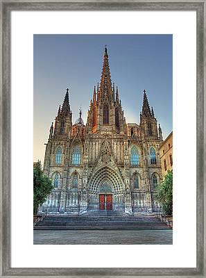 Barcelona Cathedral Framed Print