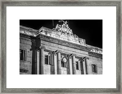 Barcelona City Hall Framed Print