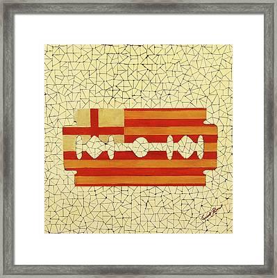 Barcelona Framed Print by Emil Bodourov
