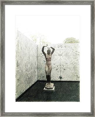 Barcelona - Mies Van Der Rohe Framed Print by Joaquin Abella