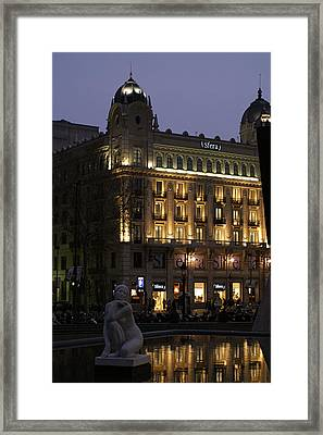 Barcelona Spain Framed Print by Henri Irizarri