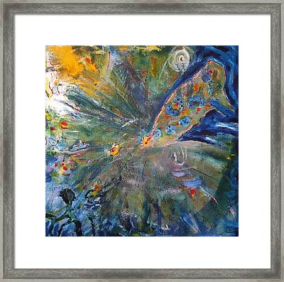 Barcelona#b Framed Print by Contemporary Art By PEARSE