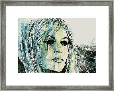 Bardot Framed Print by Paul Lovering