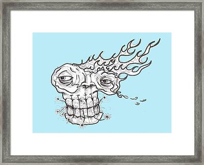 Bare Elements Framed Print by Robert Wolverton Jr