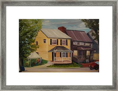 Barefoot Boutique Framed Print by Gloria Condon