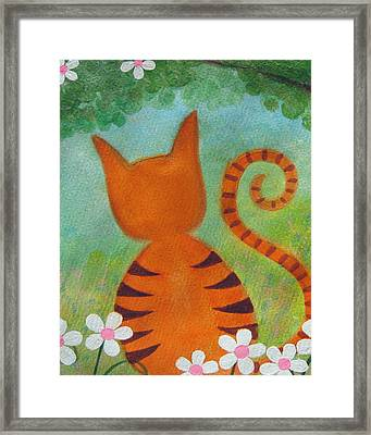 Barefoot In The Park Framed Print by Samantha Shirley