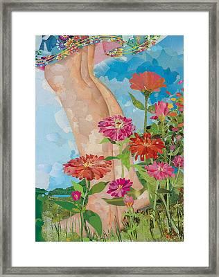 Barefoot Framed Print