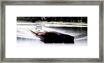 Oh Wo The Ohio Framed Print by Danny Craig