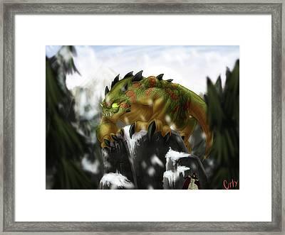 Bargodon Framed Print