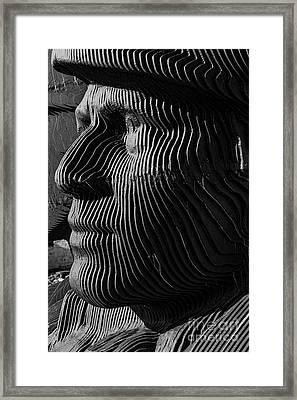Bargoed Miner Framed Print