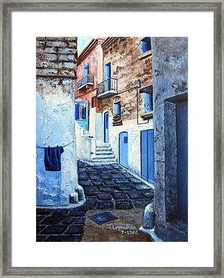 Bari Italy Framed Print