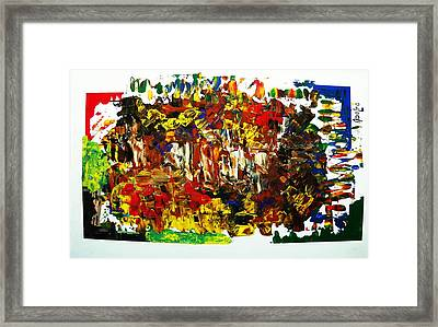 Bariloche Framed Print by Adolfo hector Penas alvarado