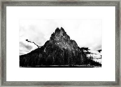 Baring Mountain Framed Print