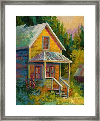 Barkerville Orphan Framed Print by Marion Rose