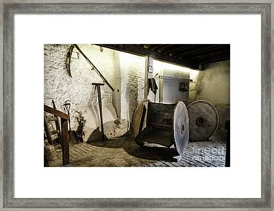 Framed Print featuring the photograph Barley Warehouse At Lockes Distillery by RicardMN Photography