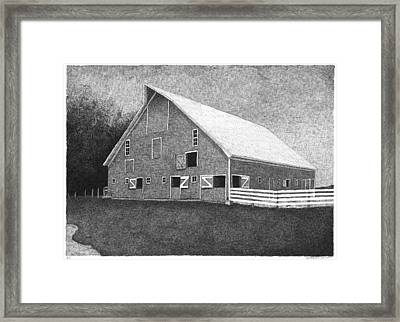 Barn 11 Framed Print by Joel Lueck