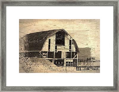 Barn 12 Framed Print