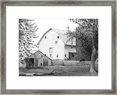 Barn 23 Framed Print by Joel Lueck