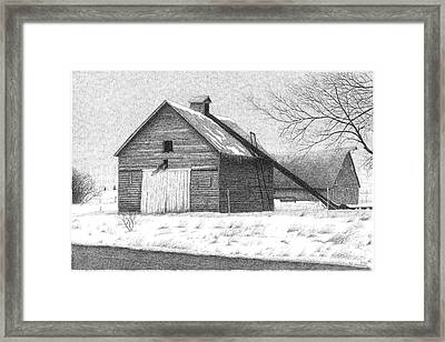 Barn 26 Framed Print by Joel Lueck