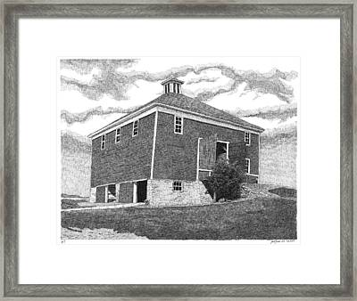 Barn 7 Framed Print by Joel Lueck