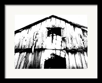 Decayed Barn Framed Prints
