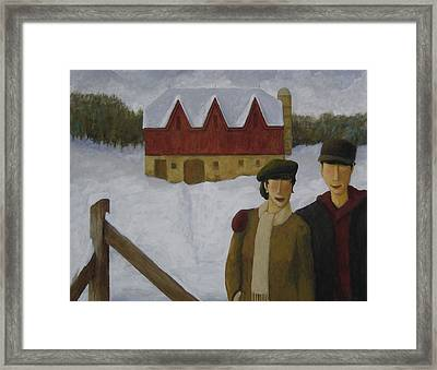 Barn And Nobles Framed Print by Glenn Quist