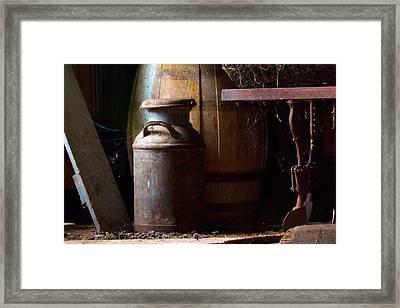 Barn Art Framed Print by Jim Finch