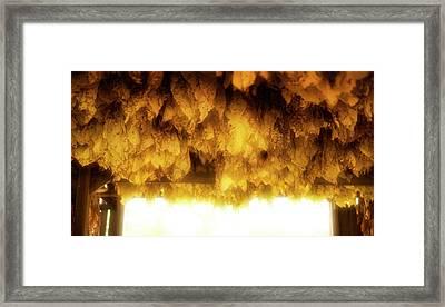 Barn Cloud Framed Print