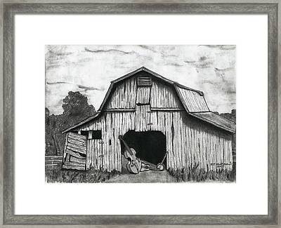 Barn Dance Framed Print by Bruce Workman