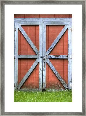 Barn Door 3 Framed Print by Dustin K Ryan