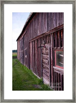 Barn Door Small Framed Print
