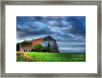 Barn Framed Print by Ian MacDonald
